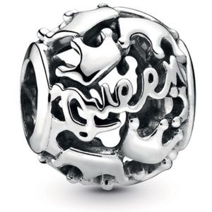 Pandora Queen & Regal Crowns Charm Silver
